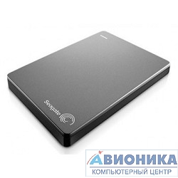 "Внешний жесткий диск 2.5"" Seagate  1Tb 2.5"" Backup Plus STBU1000201, USB 3.0, silver"