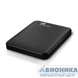 "Внешний жесткий диск 2.5"" HDD 500Gb  WDBUZG5000ABK-EESN (USB3.0) Elements Portable"