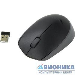 Мышь Logitech Wireless Mouse M171, Black