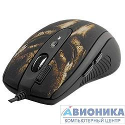 Мышь A4-Tech XL-750BH, 3600dpi, USB, (черн.+корич.)