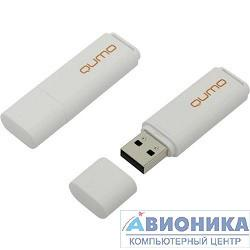 Устройство USB 2.0 Drive _QUMO 8GB Optiva 01 White [QM8GUD-OP1-white]