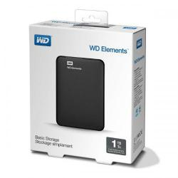 "Внешний жесткий диск 2.5"" WD Portable HDD 1Tb Elements Portable WDBUZG0010BBK-WESN {USB3.0, black}"