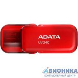 Устройство USB 2.0 Drive _8Gb A-DATA UV240 AUV240-8G-RRD {USB2.0, Red}