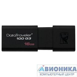 Устройство USB 3.0 Drive _16Gb Kingston 16Gb DT100G3/16Gb {USB3.0}