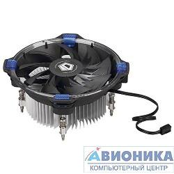 Вентилятор Cooler ID-Cooling DK-03 HALO LED 100W/ Blue LED /Intel 775,115*
